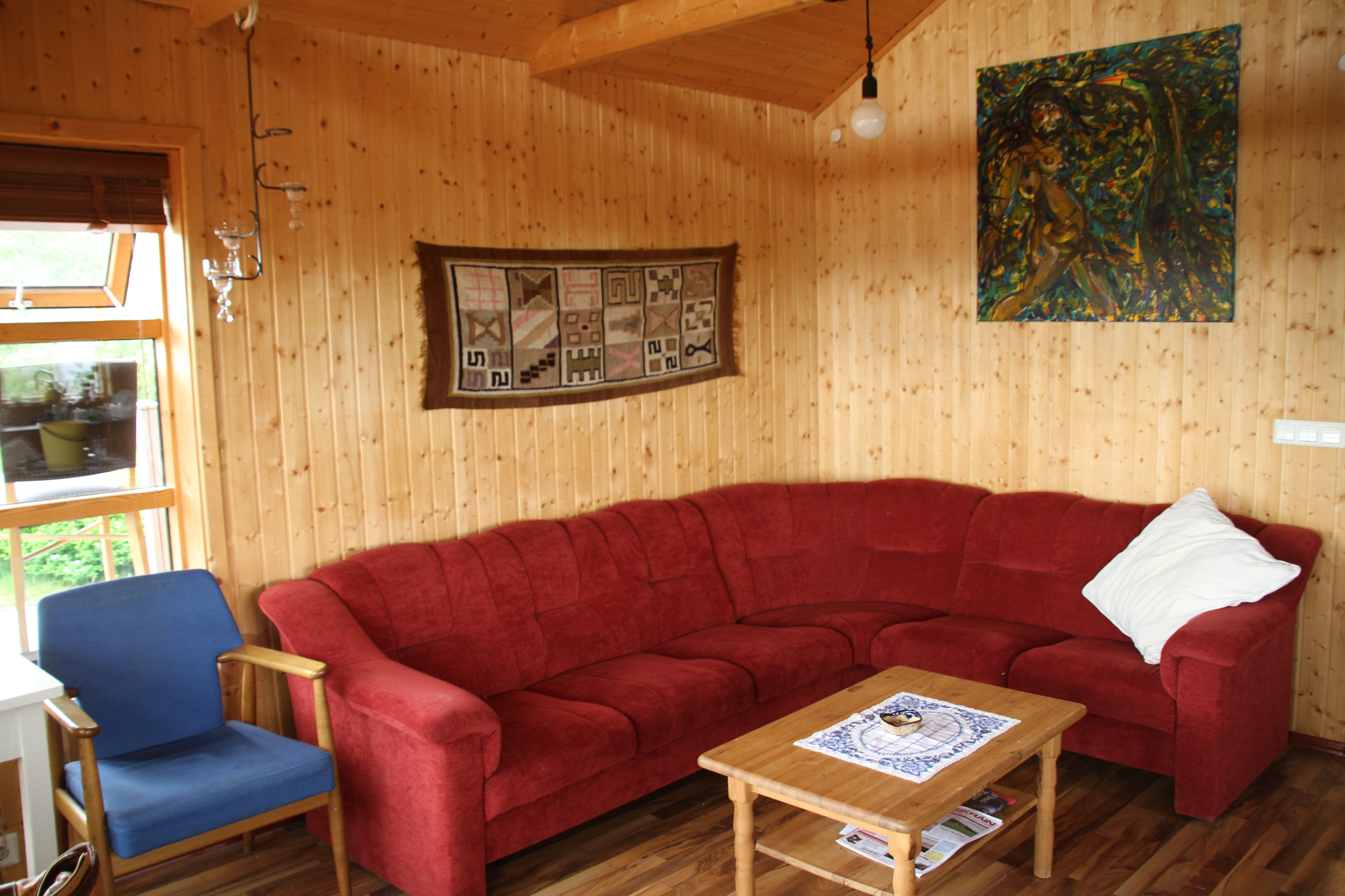 The Cabin - living room
