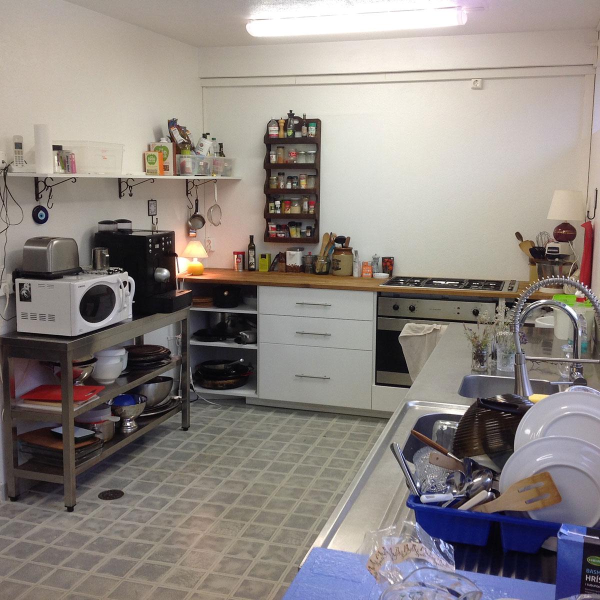The Center - kitchen