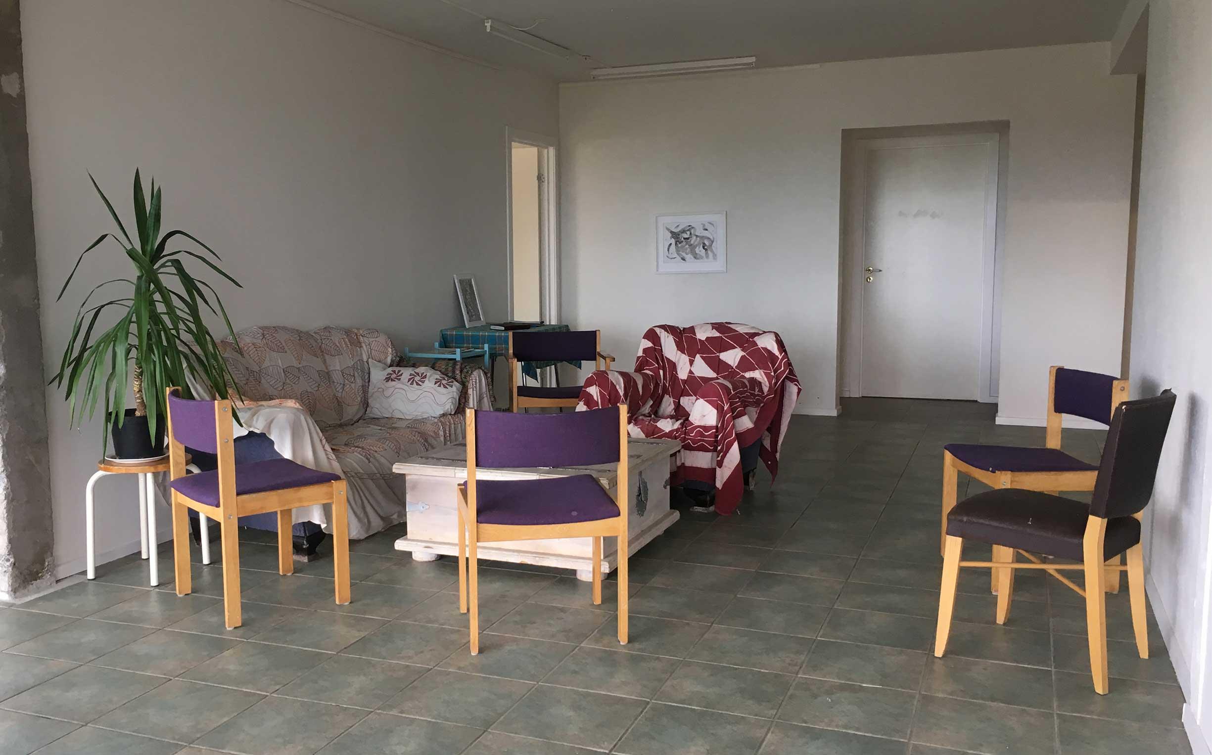 The Center - Studio/cozy corner