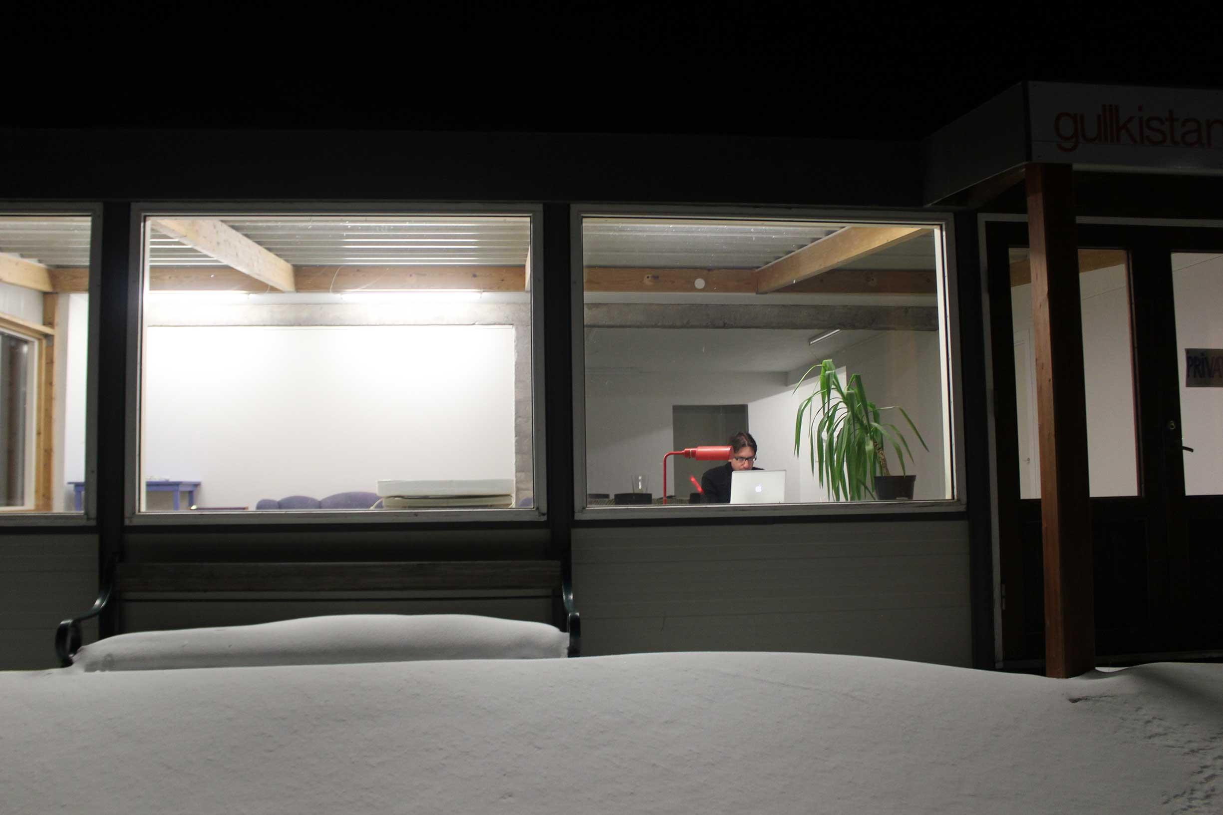 The Center - winter studio